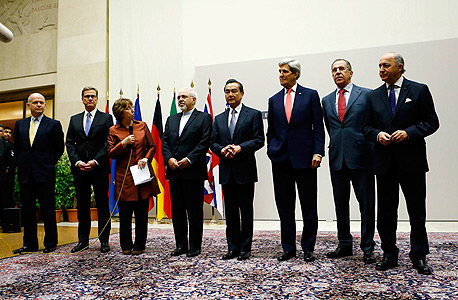 חותמים בז'נבה. מנהיגי שש המעצמות ואיראן
