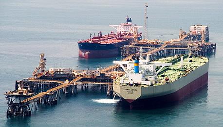 מסוף נפט במפרץ הפרסי. פוטנציאל רווח לא ממומש לפלסטינים