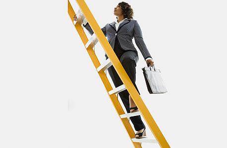 קריירה סולם ארגון פירמידה ארגונית, צילום: אימג'בנק/thinkstock