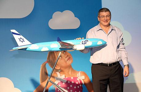 """אליעזר שקדי מנכ""""ל אל על מותג UP טיסות מוזלות לואו קוסט, צילום: סיון פרג'"""