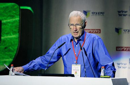 יהודה ברוניצקי מייסד ומבעלי אורמת ועידת הקיימות לעסקים 2013, צילום: ענר גרין