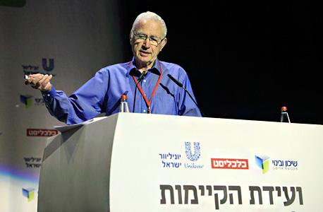 יהודה ברוניצקי מייסד ומבעלי אורמת ועידת הקיימות לעסקים 2013 , צילום: ענר גרין