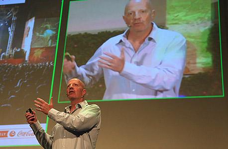 """טל רבן מנכ""""ל קוקה קולה ישראל ועידת הקיימות לעסקים 2013, צילום: ענר גרין"""