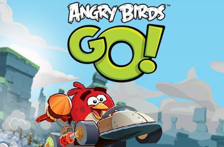 Angry birds GO: עופות דורסים