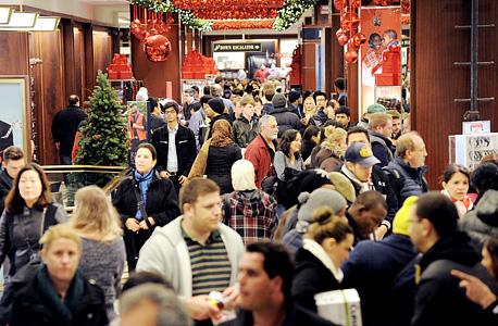 עונת הקניות. עוד מעט חג המולד