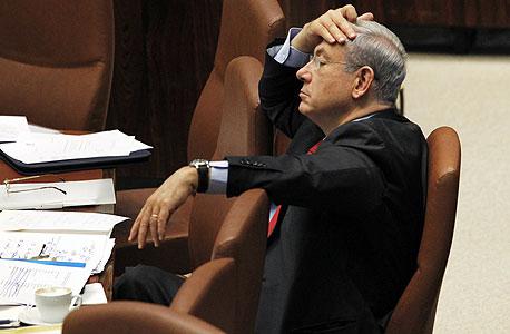 בנימין נתניהו ראש הממשלה, צילום: עטא עוויסאת