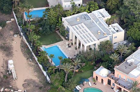 הווילה של ראש הממשלה בנימין נתניהו ב קיסריה, צילום: שאול גולן