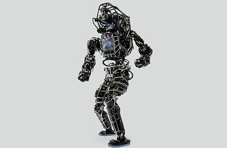 אטלס. רובוט צבאי של בוסטון דיינמיקס