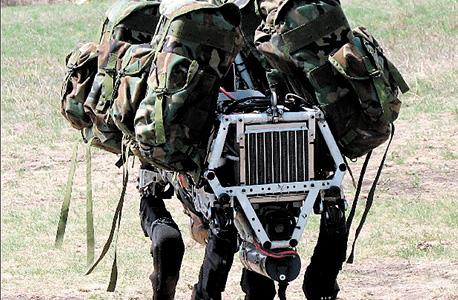 ביג דוג. רובוט צבאי של בוסטון דיינמיקס