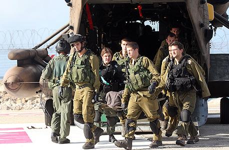 """תאונה צה""""ל רמת הגולן שריפה ב טנק, צילום: גיל נחושתן"""