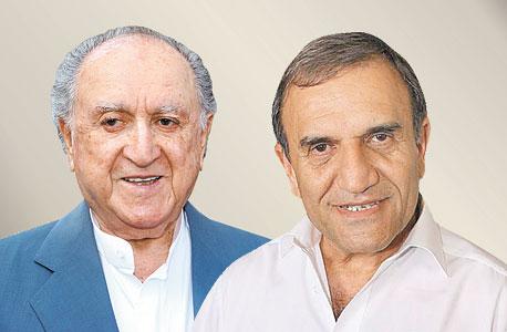 מימין צדיק בינו ו דוד עזריאלי, צילום: אוראל כהן