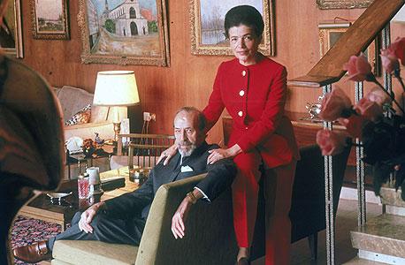 גיטה ומיילס שרובר בביתם. עשירי ונצואלה, גרסת טלביה