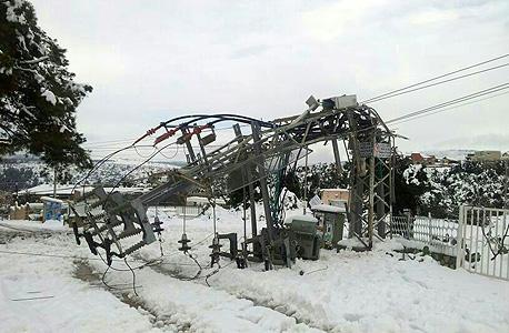 """""""הנזק לחברת החשמל - 200 מיליון שקל"""""""