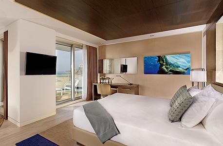 מלון ריץ קרלטון, המרינה בהרצליה, צילום: מתיו שו