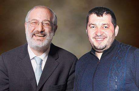מימין אלכסנדר גרנובסקי ו אדוארדו אלשטיין מתמודדים על רכישת אידיבי, צילום: אוראל כהן