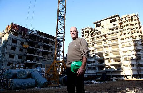 """בן שחר על רקע הפרויקט להשכרה בפ""""ת. """"כשיזם צריך לרכוש את הקרקע, המספרים נראים אחרת"""", צילום: אוראל כהן"""
