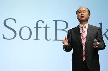 """מאסיושי סון, מנכ""""ל סופטבנק, צילום: בלומברג"""