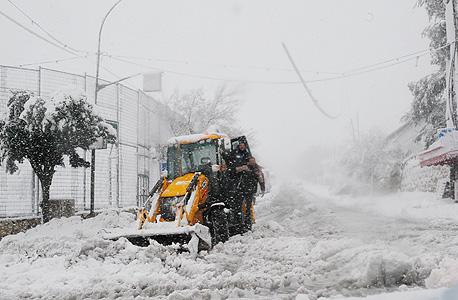 השלג שהשבית את ירושלים בשבוע שעבר. של מי הסופה הזאת?