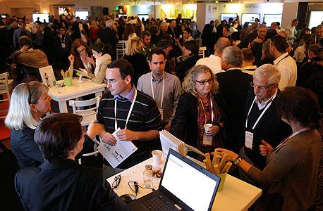 מגיעים לוועידה, צילום: עמית שעל