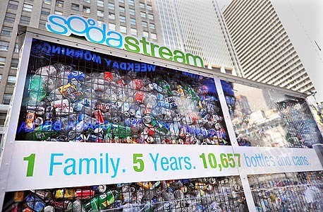 מוסף מנהלים 30.12.13 סודהסטרים sodastream, צילום: בלומברג