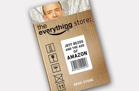 """מוסף מנהלים 30.12.13 עטיפת הספר על ג'ף בזוס מנכ""""ל אמזון, צילום: בלומברג"""