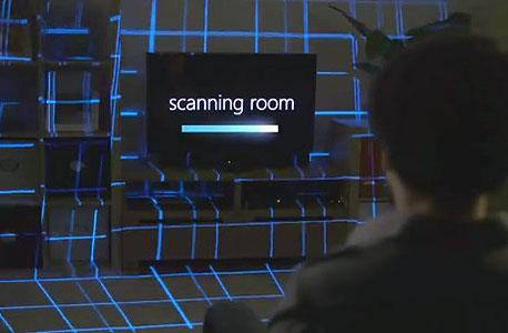 מיקרוסופט IllumiRoom משחקים