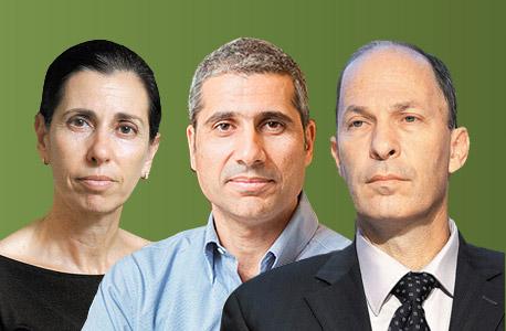 מימין אורי יוגב אמיר לוי דורית סלינגר, צילום: אוראל כהן, עומר מסינגר, עמית שעל