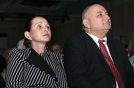 ועידת התחזיות 2014 יצחק תשובה ואישתו בקהל, צילום: נמרוד גליקמן