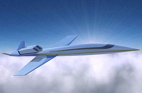 יש לכם 80 מיליון דולר מיותרים? תוכלו לרכוש מטוס מנהלים על-קולי