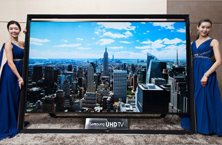 סמסונג 110 אינטש טלוויזיה, צילום: איי אף פי