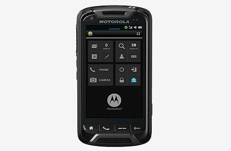 """סמארטפון טלפון של מוטורולה לשימוש צה""""ל"""