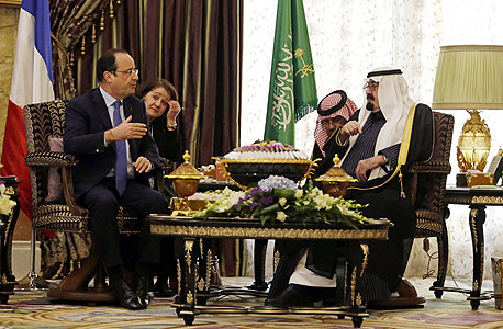 סעודיה נגמלת מנפט: צרפת תסייע לה בפיתוח תעשייה גרעינית