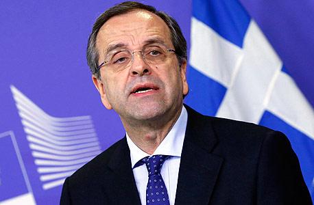 ראש ממשלת יוון אנטוניס סאמארס, צילום: רויטרס