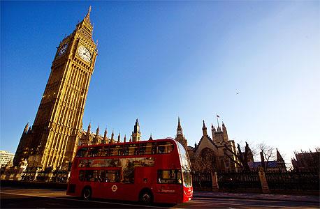 בריטניה רשמה צמיחה של 0.7% ברבעון הרביעי