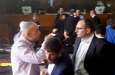 מוטי בן משה בבית המשפט