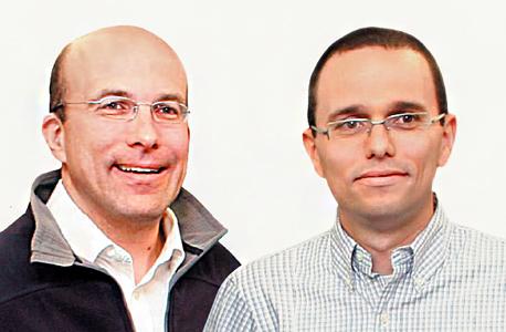 """מידן (מימין) וליכטנשטיין. מינוי המנכ""""ל צפוי להתפרסם בקרוב, צילום: אוראל כהן"""