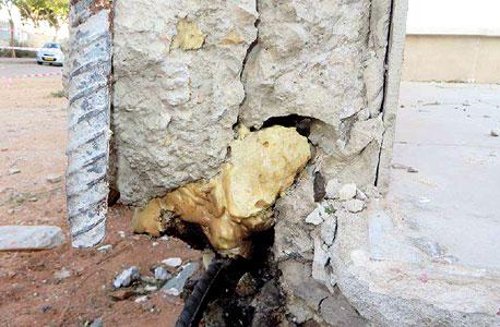 פוליסטרן מוקצף במקום בטון