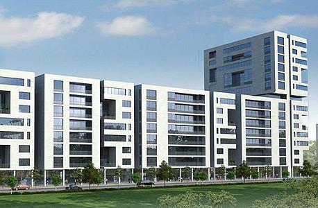 פרויקט פינוי בינוי לה  גווארדיה תל אביב, הדמיה: גוגנהייים בלוך אדריכלים ומתכנני ערים