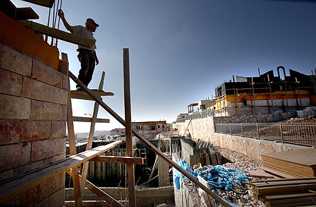 בנייה בהתנחלויות (ארכיון)