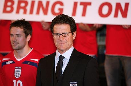 פאביו קאפלו. מאמן נבחרת אנגליה