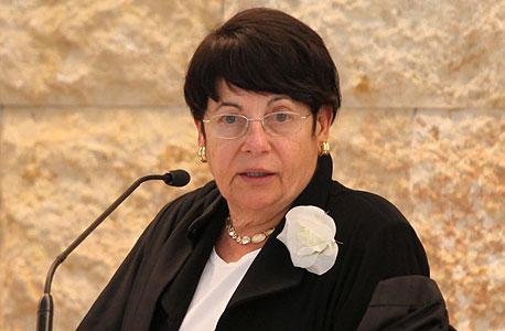 מרים נאור שופטת בית המשפט העליון, צילום: עמית שאבי