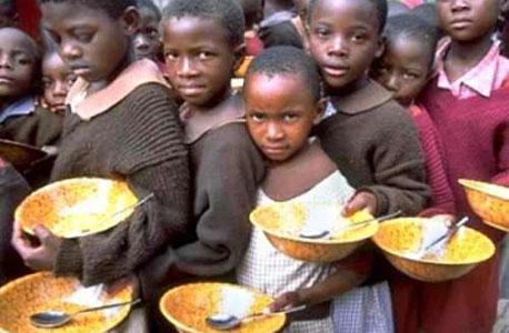 ילדים רעבים באפריקה