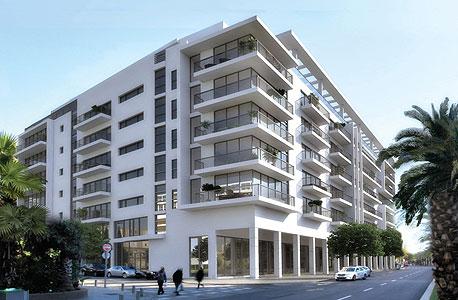הדמיה של אחד הבניינים החדשים