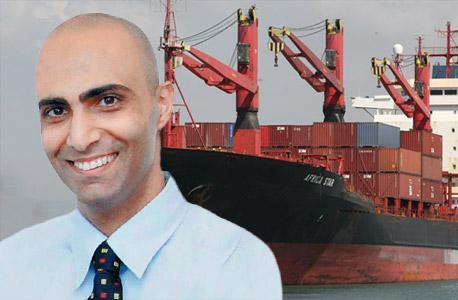 ודיאו אניית צים יניב רחימי, צילום:  אלעד גרשגורן