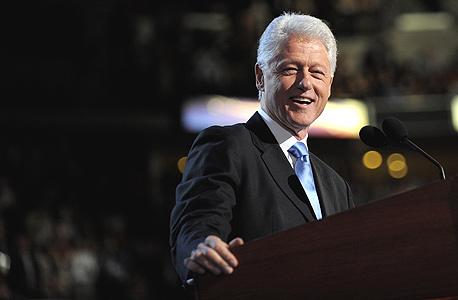 "נשיא ארה""ב לשעבר ביל קלינטון"