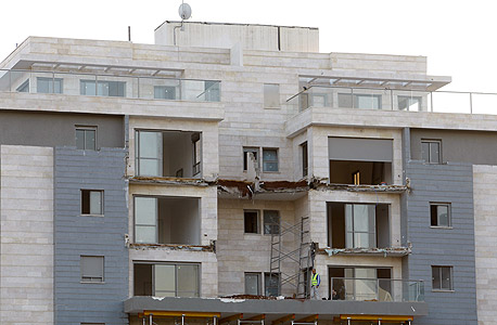 קריסת מרפסות גינדי , צילום: נמרוד גליקמן
