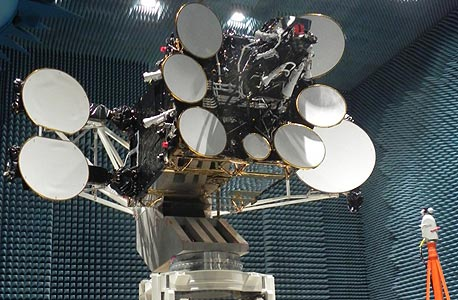 AMOS-4 satellite. Photo: IAI