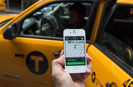 אובר אפליקציה מונית uber