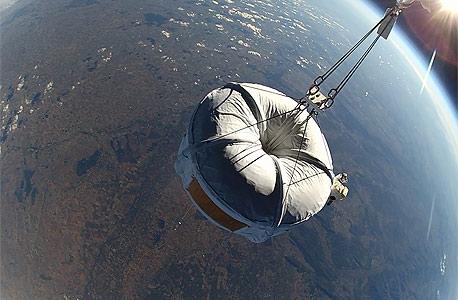 zero2infinity  טיסה בכדור פורח לחלל