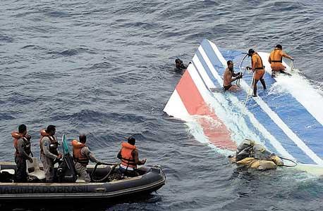 """אתר התרסקות מטוס אייר פרנס לחופי ברזיל, 2009. """"שכחנו איך לטוס"""", הגדיר זאת קצין הבטיחות  של איגוד הטייסים האמריקאי"""